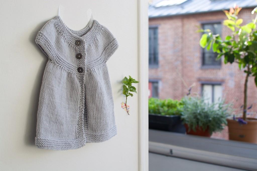 Tuto tricot robe facile