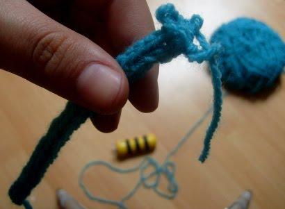 Tuto tricotin abeille