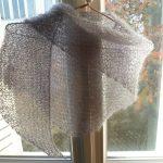 Tricoter un chale en triangle