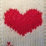Tricoter intarsia