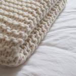 Tricoter un plaid laine