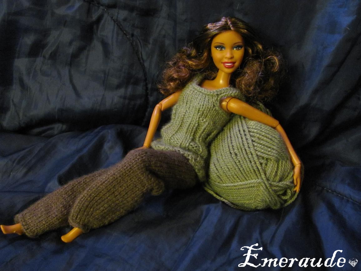 Tricoter pour barbie