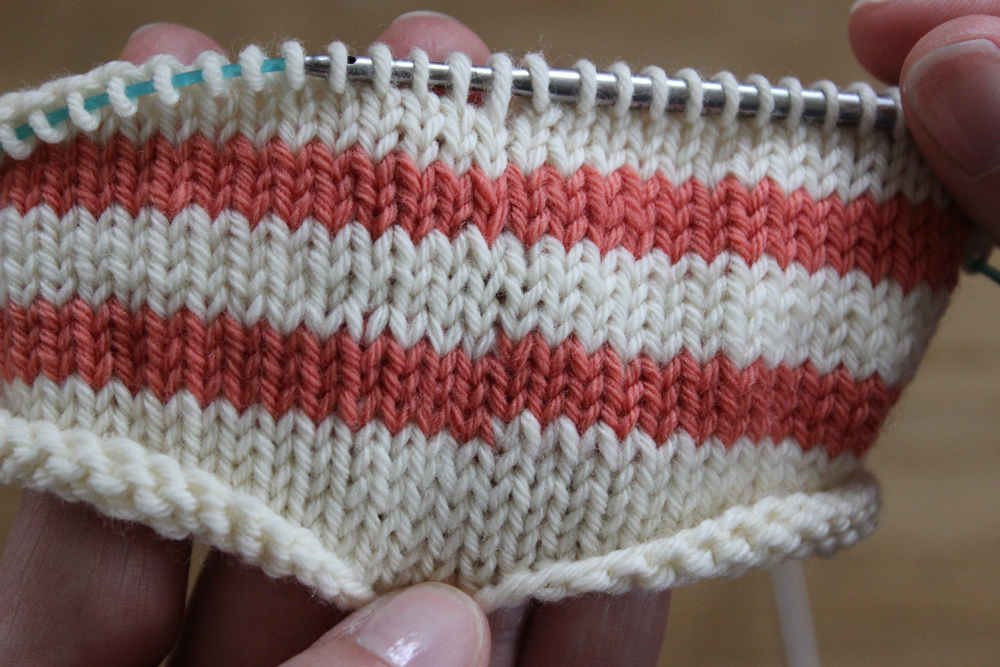Tricot a rayures