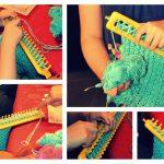 Tricoter avec un tricotin