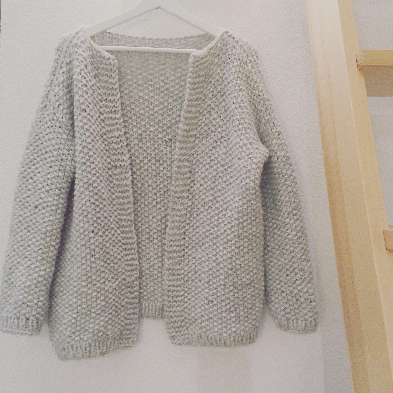 Modele tricot facile veste femme
