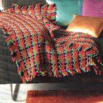 Tricoter un plaid au tricotin