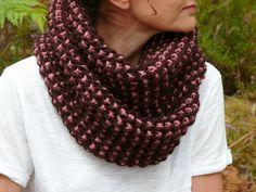 Tricoter avec deux couleurs