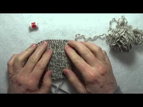 Tricoter en rond avec 2 aiguilles