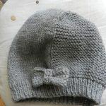 Tricoter un bonnet fille 2 ans