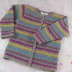 Tricoter veste fillette 4 ans