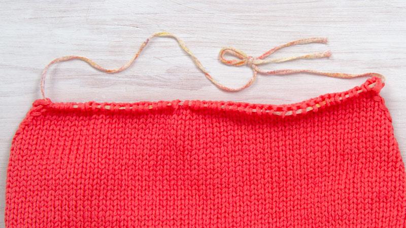 Tricoter en avion