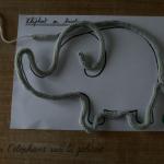 Tricotin elephant