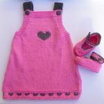 Tricot facile robe bébé