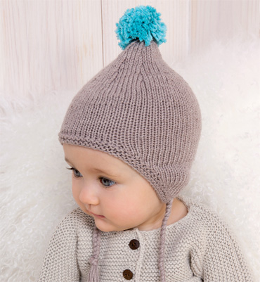 Tricoter un bonnet de bebe