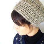 Tricoter un bonnet retro