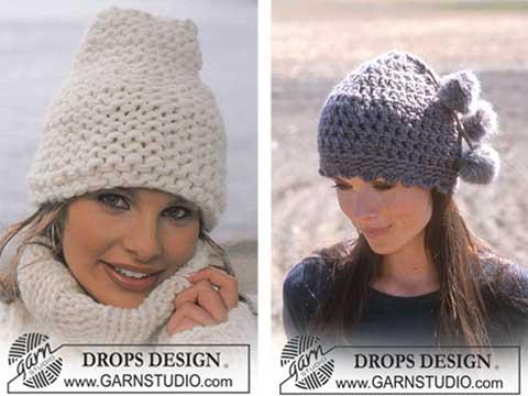Tricoter un bonnet en grosse laine