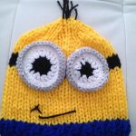Comment tricoter un bonnet minion