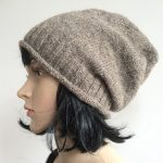 Tricoter un bonnet slouchy pour homme