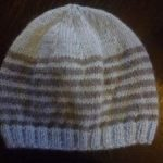 Tricot bonnet bébé jersey