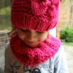 Tricoter snood fille 4 ans