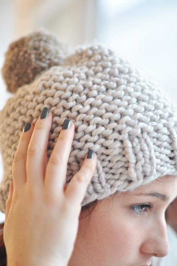 Tricoter un bonnet adulte facile