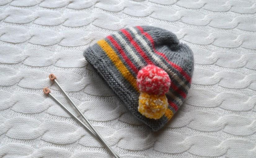Tricoter un bonnet bébé 18 mois