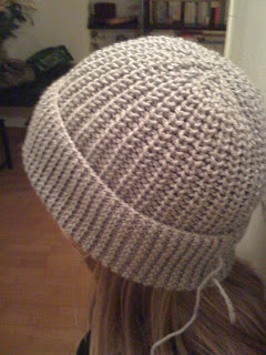 Tricoter un bonnet en cote 1/1