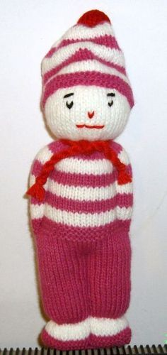 Tricoter petit bonhomme en laine