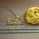 Tricoter en rond un petit diametre avec des aiguilles circulaire