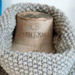 Point de riz tricot circulaire