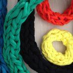 Tricotage avec les doigts