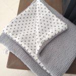 Tricoter plaid bébé débutant