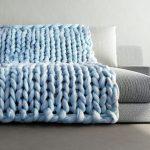 Tricoter jeté de canapé