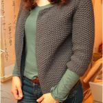 Explication tricot pull femme point de riz