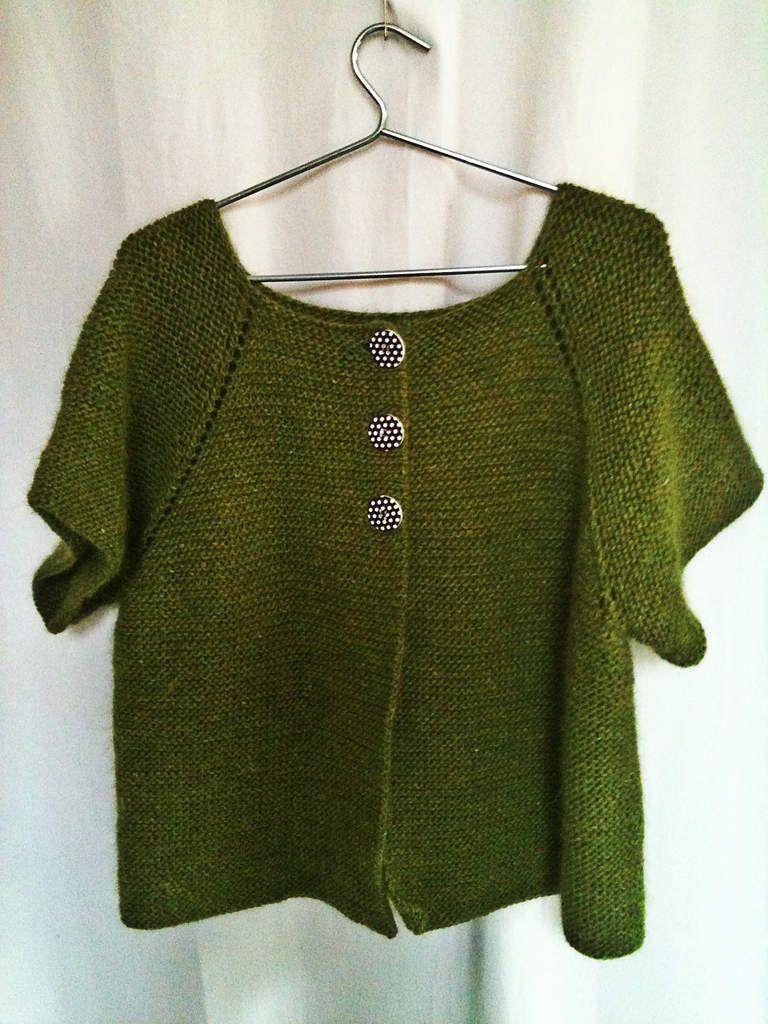 Tricoter un plaid sans couture