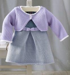 Tricot robe bebe 3 mois
