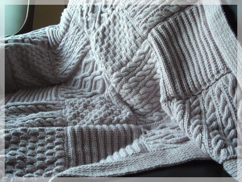 Tricoter un petit plaid