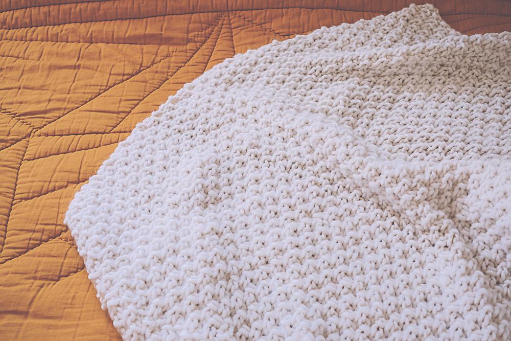 Tricoter plaid