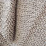 Tricoter plaid bébé