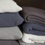 Tricoter coton point de riz