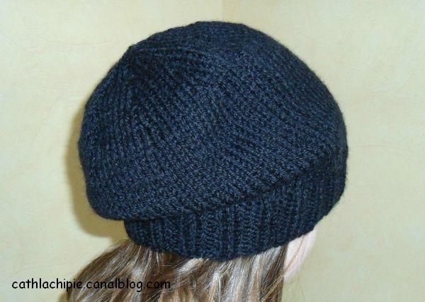 Tricoter un bonnet rond tout simple