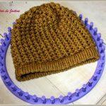 Tutoriel tricotin géant bonnet