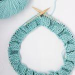 Tricoter en rond cotes