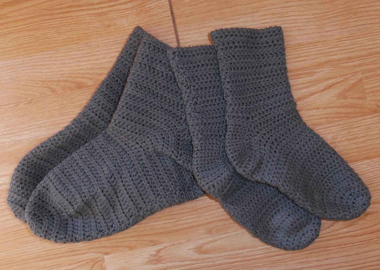 Tricoter chaussettes bébé 4 aiguilles
