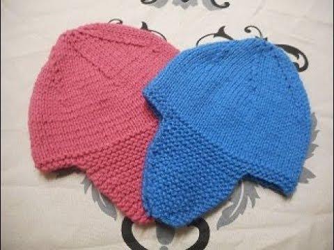 Tricoter un bonnet peruvien video
