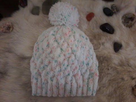Tricoter un bonnet facile youtube