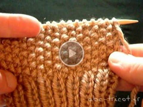 Augmentation tricot point de riz