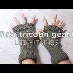 Tuto tricotin geant droit