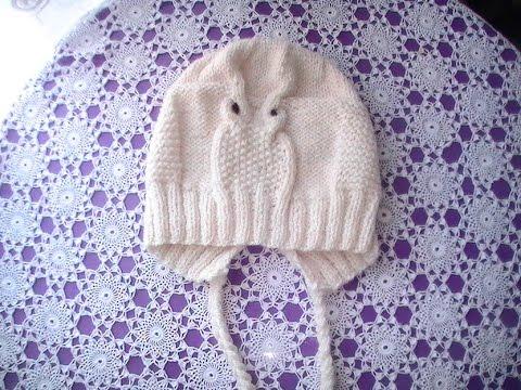 Tuto tricotin hibou