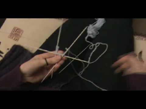 Tricoter en rond double pointe